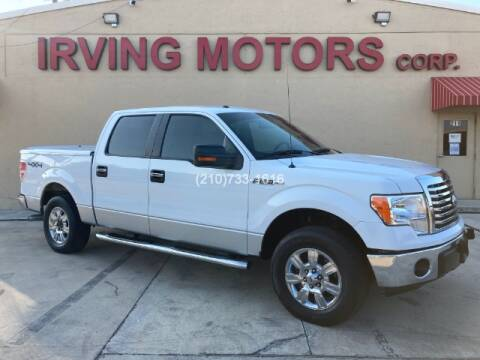 2011 Ford F-150 for sale at Irving Motors Corp in San Antonio TX