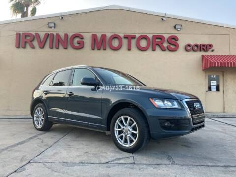 2010 Audi Q5 for sale at Irving Motors Corp in San Antonio TX