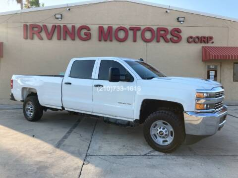 2017 Chevrolet Silverado 2500HD for sale at Irving Motors Corp in San Antonio TX