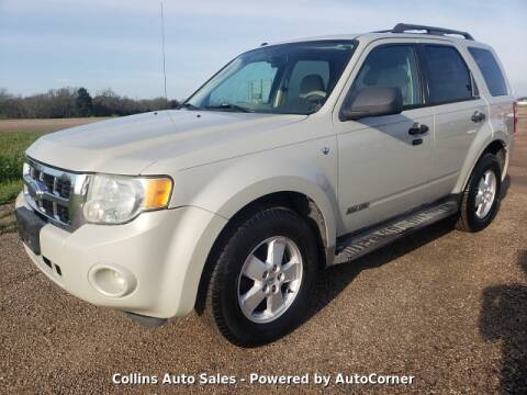 2008 Ford Escape for sale at Collins Auto Sales in Waco TX