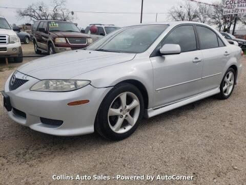 2003 Mazda MAZDA6 for sale at Collins Auto Sales in Waco TX