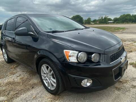 2013 Chevrolet Sonic for sale at Collins Auto Sales in Waco TX