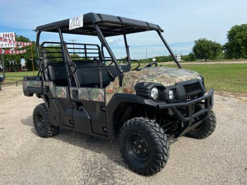2018 Kawasaki Mule Pro FXT for sale at Collins Auto Sales in Waco TX