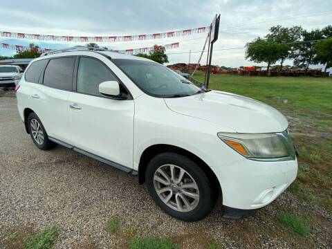 2013 Nissan Pathfinder for sale at Collins Auto Sales in Waco TX