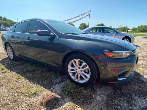 2018 Chevrolet Malibu for sale at Collins Auto Sales in Waco TX