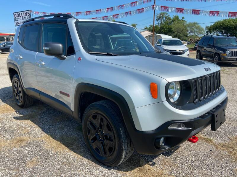 2018 Jeep Renegade for sale at Collins Auto Sales in Waco TX