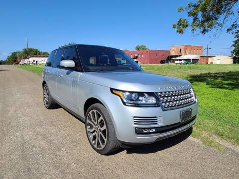 2017 Land Rover Range Rover for sale at Collins Auto Sales in Waco TX