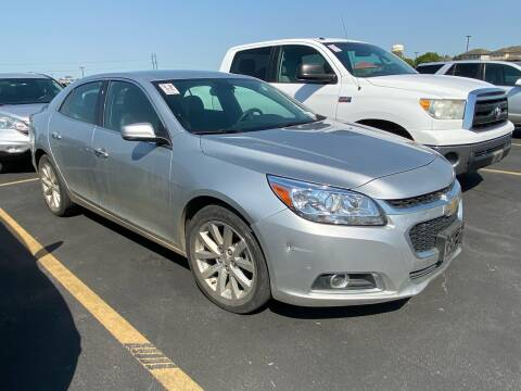 2016 Chevrolet Malibu Limited for sale at Collins Auto Sales in Waco TX