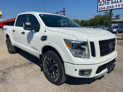 2017 Nissan Titan for sale at Collins Auto Sales in Waco TX