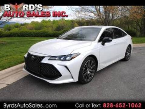 2019 Toyota Avalon for sale at Byrds Auto Sales in Marion NC