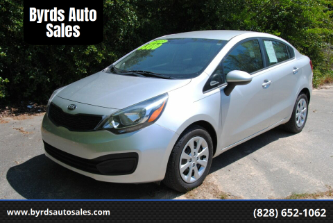 2013 Kia Rio for sale at Byrds Auto Sales in Marion NC