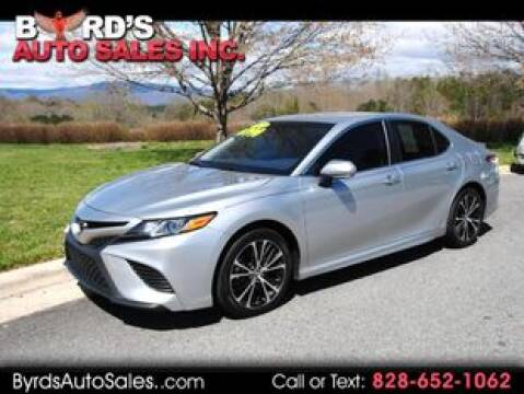 2018 Toyota Camry for sale at Byrds Auto Sales in Marion NC