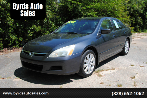 2007 Honda Accord for sale at Byrds Auto Sales in Marion NC