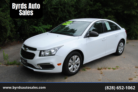 2016 Chevrolet Cruze Limited for sale at Byrds Auto Sales in Marion NC