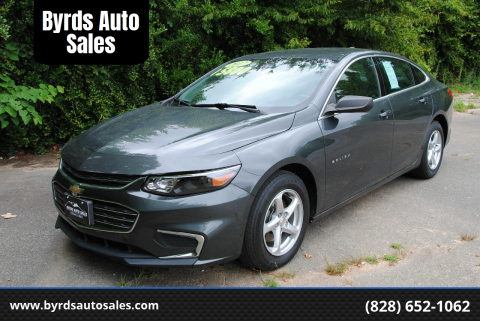 2017 Chevrolet Malibu for sale at Byrds Auto Sales in Marion NC