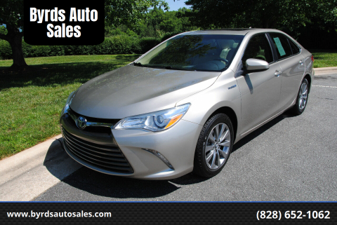2016 Toyota Camry Hybrid for sale at Byrds Auto Sales in Marion NC