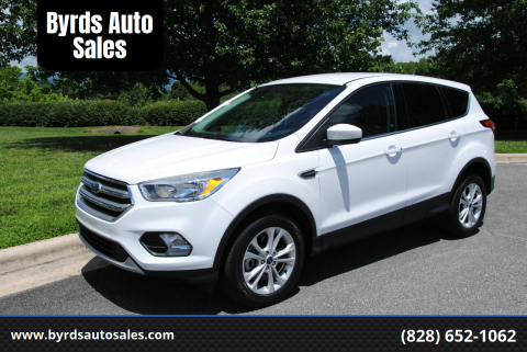 2017 Ford Escape for sale at Byrds Auto Sales in Marion NC