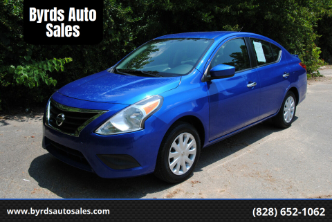 2016 Nissan Versa for sale at Byrds Auto Sales in Marion NC