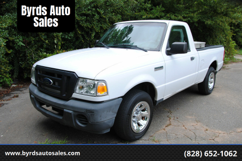 2011 Ford Ranger for sale at Byrds Auto Sales in Marion NC