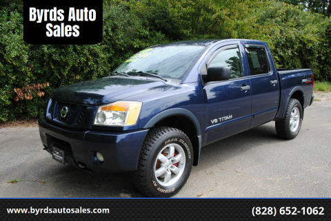 2012 Nissan Titan for sale at Byrds Auto Sales in Marion NC