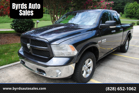 2014 RAM Ram Pickup 1500 for sale at Byrds Auto Sales in Marion NC