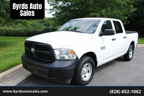 2016 RAM Ram Pickup 1500 for sale at Byrds Auto Sales in Marion NC