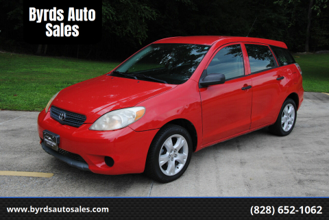 2007 Toyota Matrix for sale at Byrds Auto Sales in Marion NC