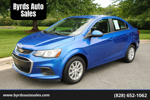 2018 Chevrolet Sonic for sale at Byrds Auto Sales in Marion NC