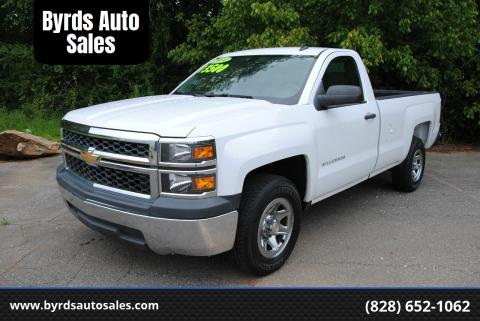 2014 Chevrolet Silverado 1500 for sale at Byrds Auto Sales in Marion NC