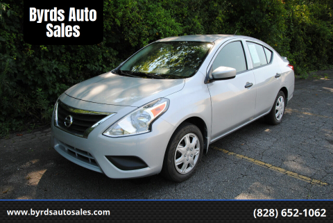 2018 Nissan Versa for sale at Byrds Auto Sales in Marion NC