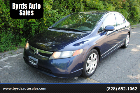 2008 Honda Civic for sale at Byrds Auto Sales in Marion NC