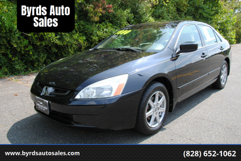 2004 Honda Accord for sale at Byrds Auto Sales in Marion NC