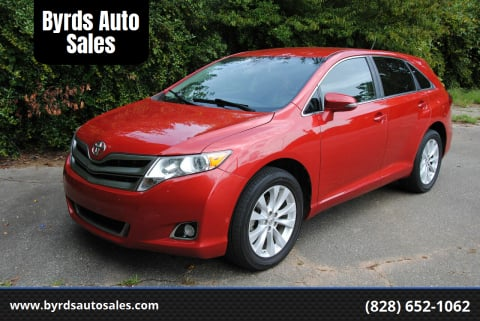 2013 Toyota Venza for sale at Byrds Auto Sales in Marion NC