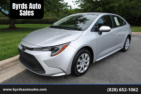 2020 Toyota Corolla for sale at Byrds Auto Sales in Marion NC