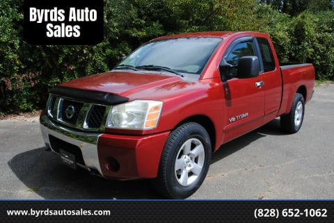 2007 Nissan Titan for sale at Byrds Auto Sales in Marion NC