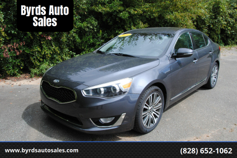 2014 Kia Cadenza for sale at Byrds Auto Sales in Marion NC