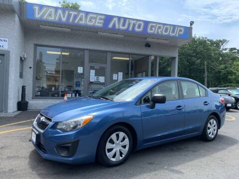 2014 Subaru Impreza for sale at Vantage Auto Group in Brick NJ