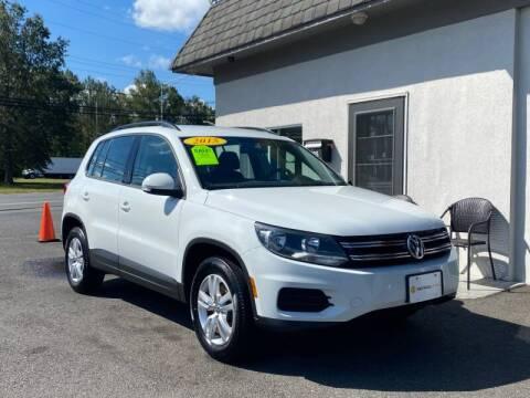 2015 Volkswagen Tiguan for sale at Vantage Auto Group Tinton Falls in Tinton Falls NJ