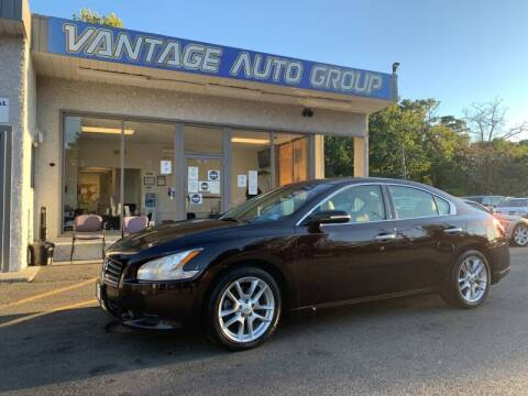 2010 Nissan Maxima for sale at Vantage Auto Group in Brick NJ