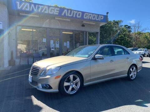 2010 Mercedes-Benz E-Class for sale at Vantage Auto Group in Brick NJ