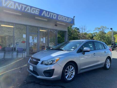 2012 Subaru Impreza for sale at Vantage Auto Group in Brick NJ