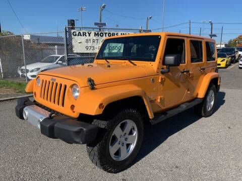 2012 Jeep Wrangler Unlimited for sale at Vantage Auto Group - Vantage Auto Wholesale in Lodi NJ