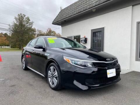 2017 Kia Optima Hybrid for sale at Vantage Auto Group Tinton Falls in Tinton Falls NJ