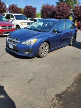 2012 Subaru Impreza for sale at Blue Line Auto Group in Portland OR