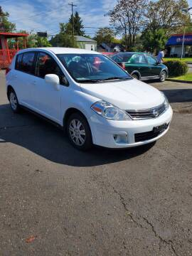 2010 Nissan Versa for sale at Blue Line Auto Group in Portland OR