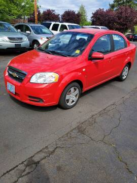 2007 Chevrolet Aveo for sale at Blue Line Auto Group in Portland OR