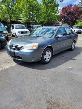 2006 Chevrolet Malibu for sale at Blue Line Auto Group in Portland OR