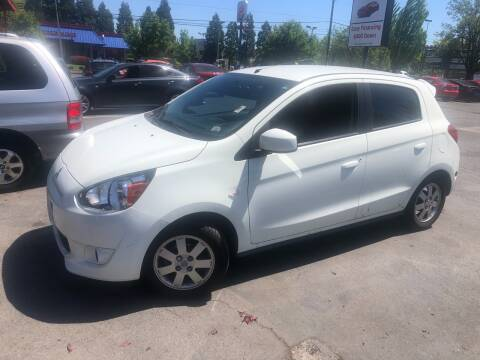 2014 Mitsubishi Mirage for sale at Blue Line Auto Group in Portland OR