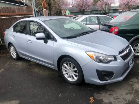 2014 Subaru Impreza for sale at Blue Line Auto Group in Portland OR