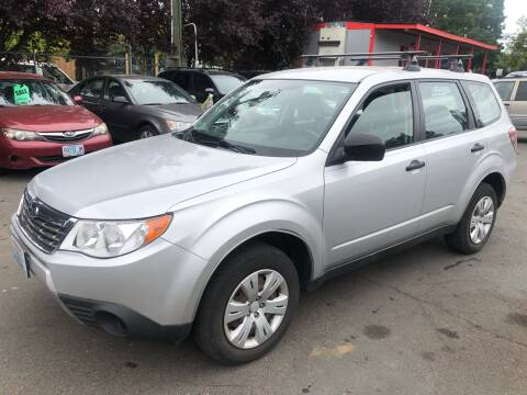 2010 Subaru Forester for sale at Blue Line Auto Group in Portland OR